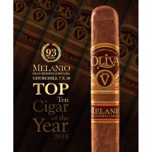 Oliva serie v melanio la casa del tabaco ranking cigar aficionado