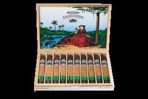 Caja de cigarros La Rosa de San Diego Presidente