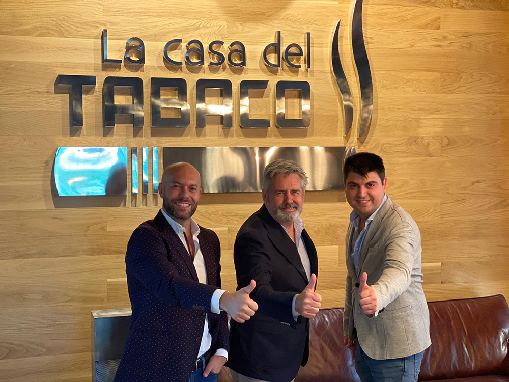 De izquierda a derecha, Aitor Zapata, Pepe Palacios y Honorio Tortosa.