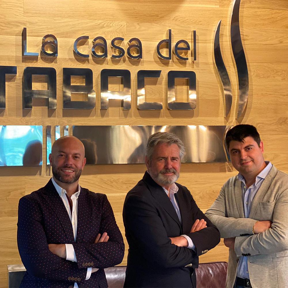 AITOR ZAPATA Y HONORIO TORTOSA LA CASA DEL TABACO