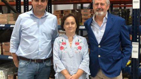 ELENA VIANA VISITA LA CASA DEL TABACO LCT SQ